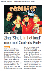 05112014 Zing Sint is in het land