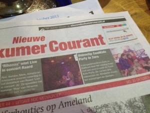 Voorpagina Dockummer Courant